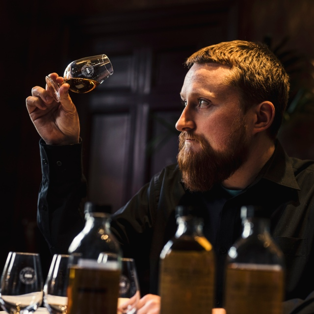 SMWS spirits manager Euan Campbell