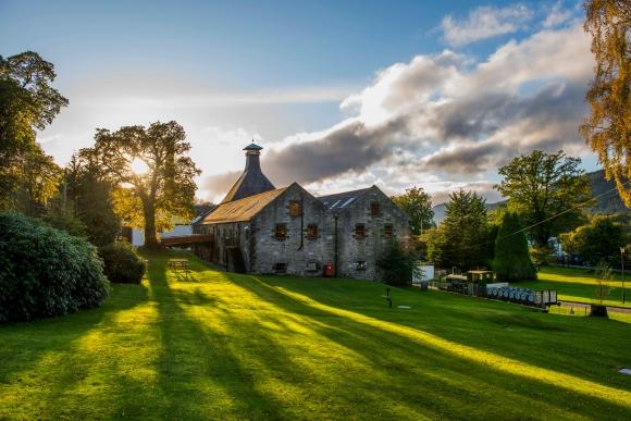Dewar's Aberfeldy Distillery Exterior
