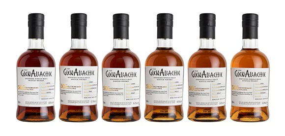 GlenAllachie's special bottling of limited edition whiskies