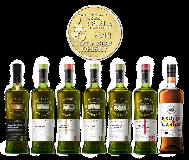 Award Winning Bottles + Medal