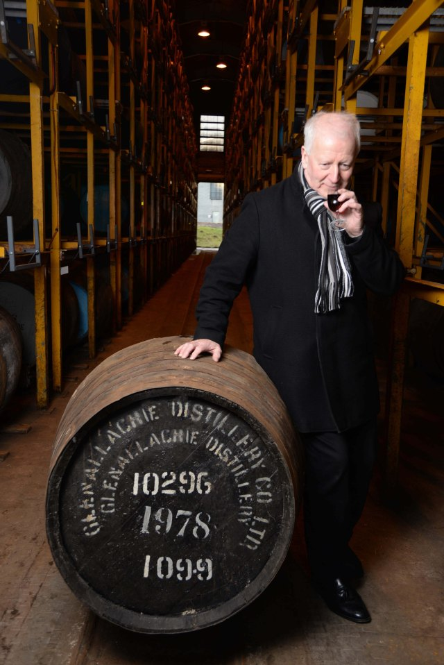 GlenAllachie Master Distiller Billy Walker
