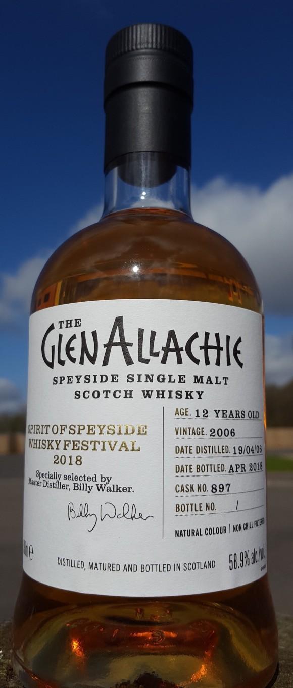 GlenAllachie Speyside bottling