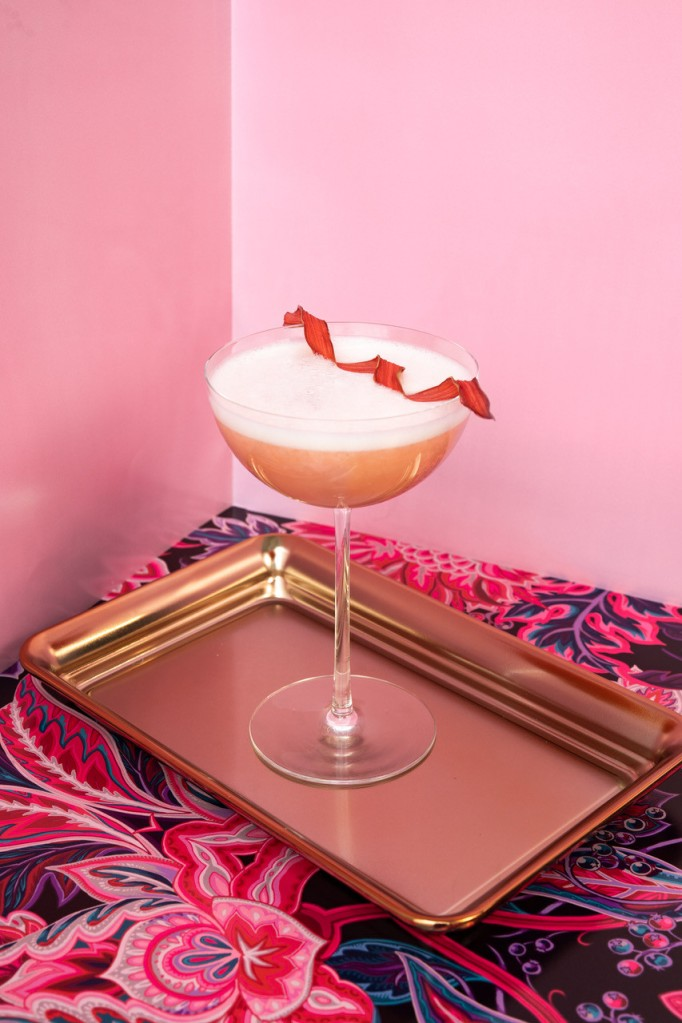 Picture of Rhubarb Sour cocktail